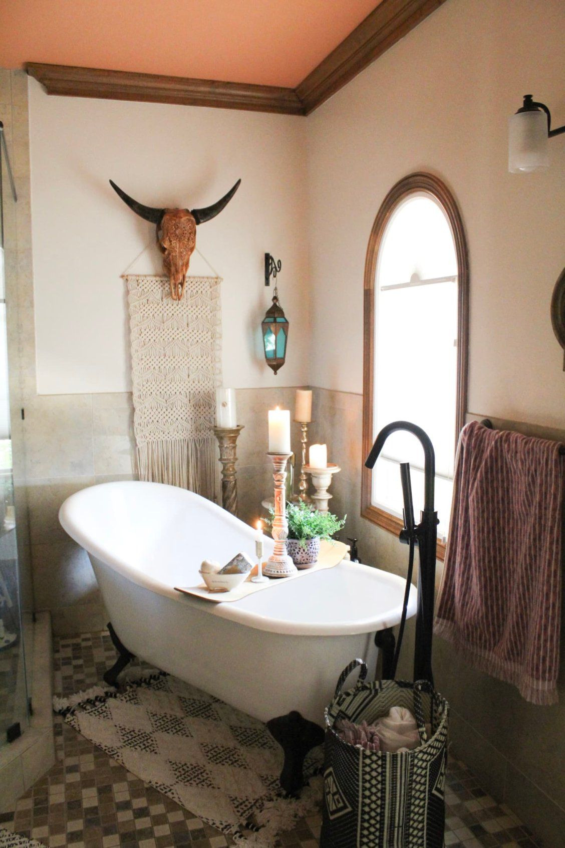 Texas Bathroom Decor Best Of This Eclectic Boho Texas House S Master Bedroom Has An