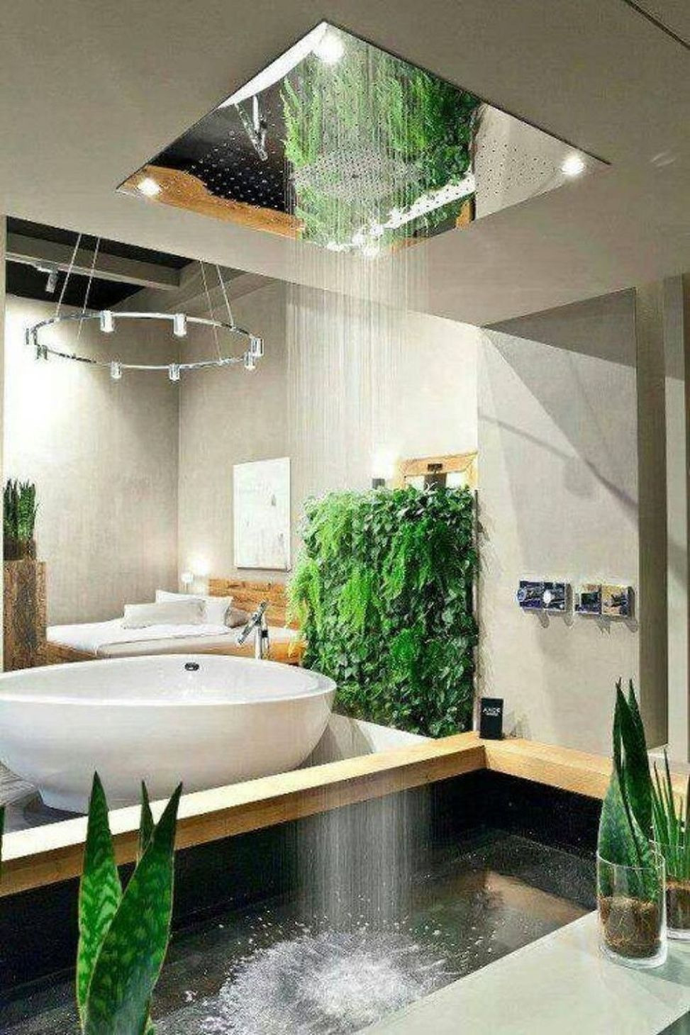 30 Tropical Bathroom Decor 32