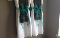 Turquoise Bathroom Decor Inspirational So No One Uses The Decorative Towels