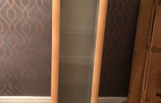 Wall Mounted Cabinet With Glass Doors Inspirational Wall Mounted Glass Cabinet In Leicester Für £ 25 00 Zum