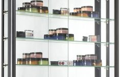 Wall Mounted Display Cabinets With Glass Doors Elegant Amazon Wall Mounted Display Case With Height Adjustable