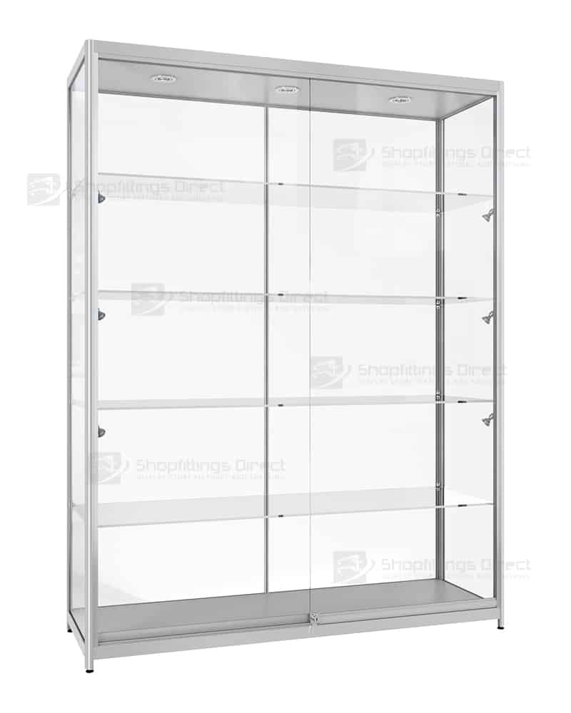 Wall Mounted Display Cabinets with Glass Doors Inspirational 1500mm Aluminium Framed Glass Display Cabinets