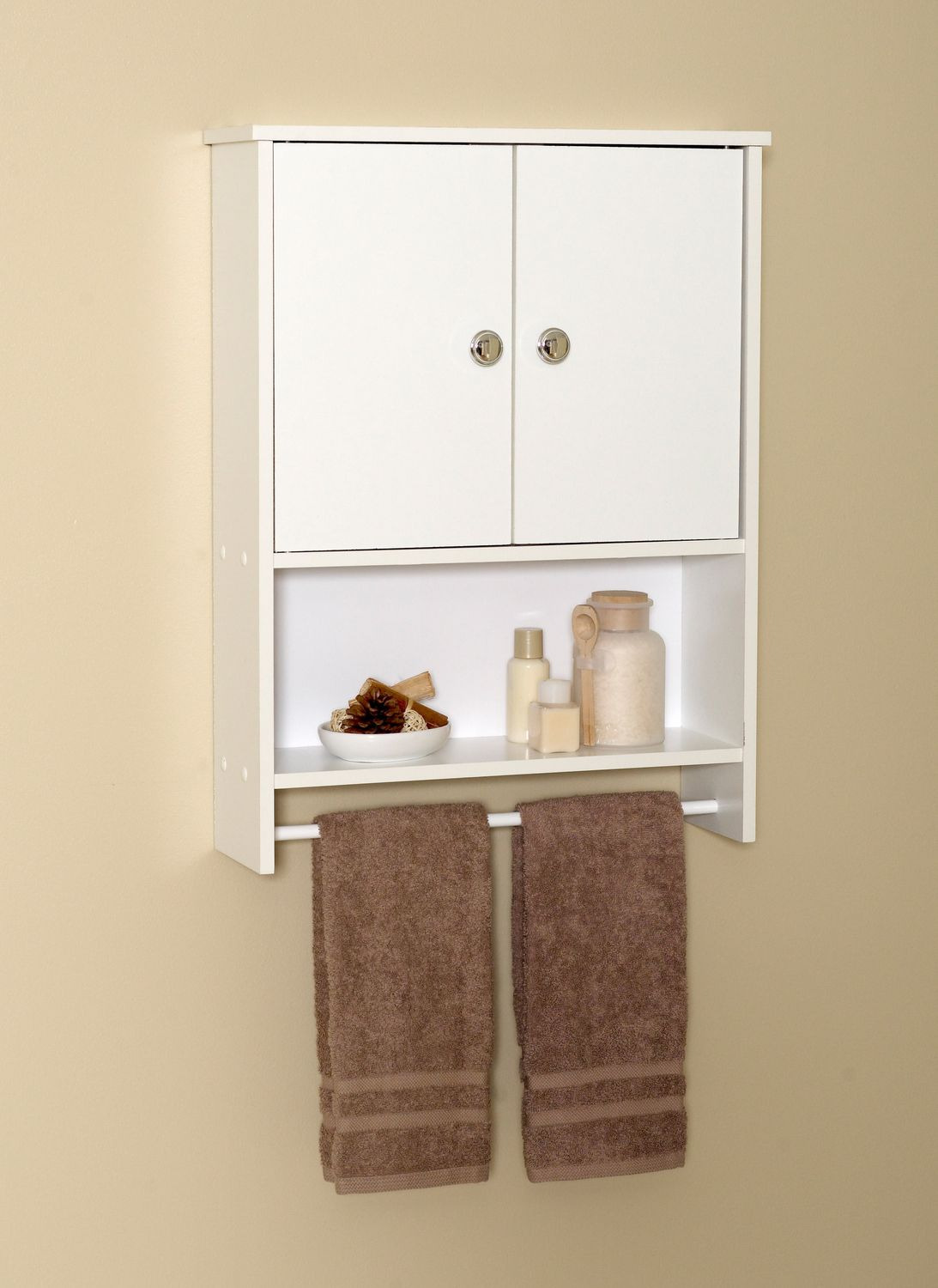 Walmart Storage Cabinets with Doors Lovely Mainstays White Wood 2 Door Wall Cabinet