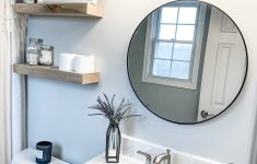 Ways To Decorate Your Bathroom Inspirational A Circle Mirror Is A Fun Classic Way To Decorate Your