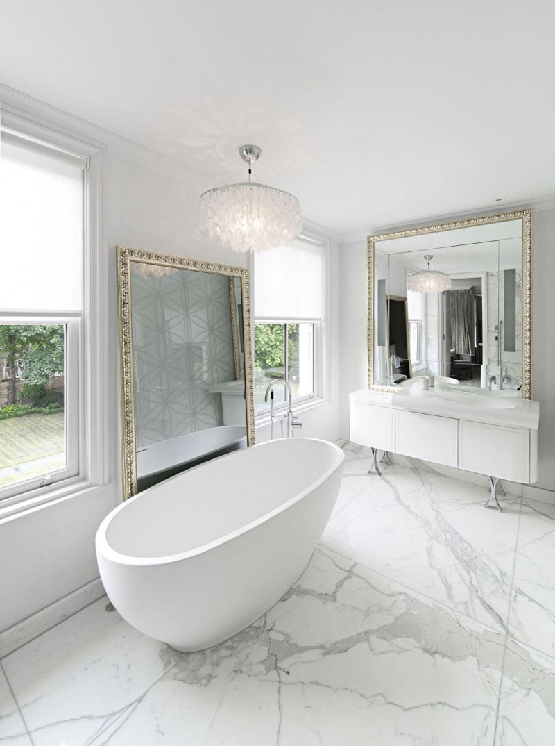 30 modern bathroom design ideas for your private heaven freshome for 12 white modern bathroom ideas most fashionable and also stunning 2