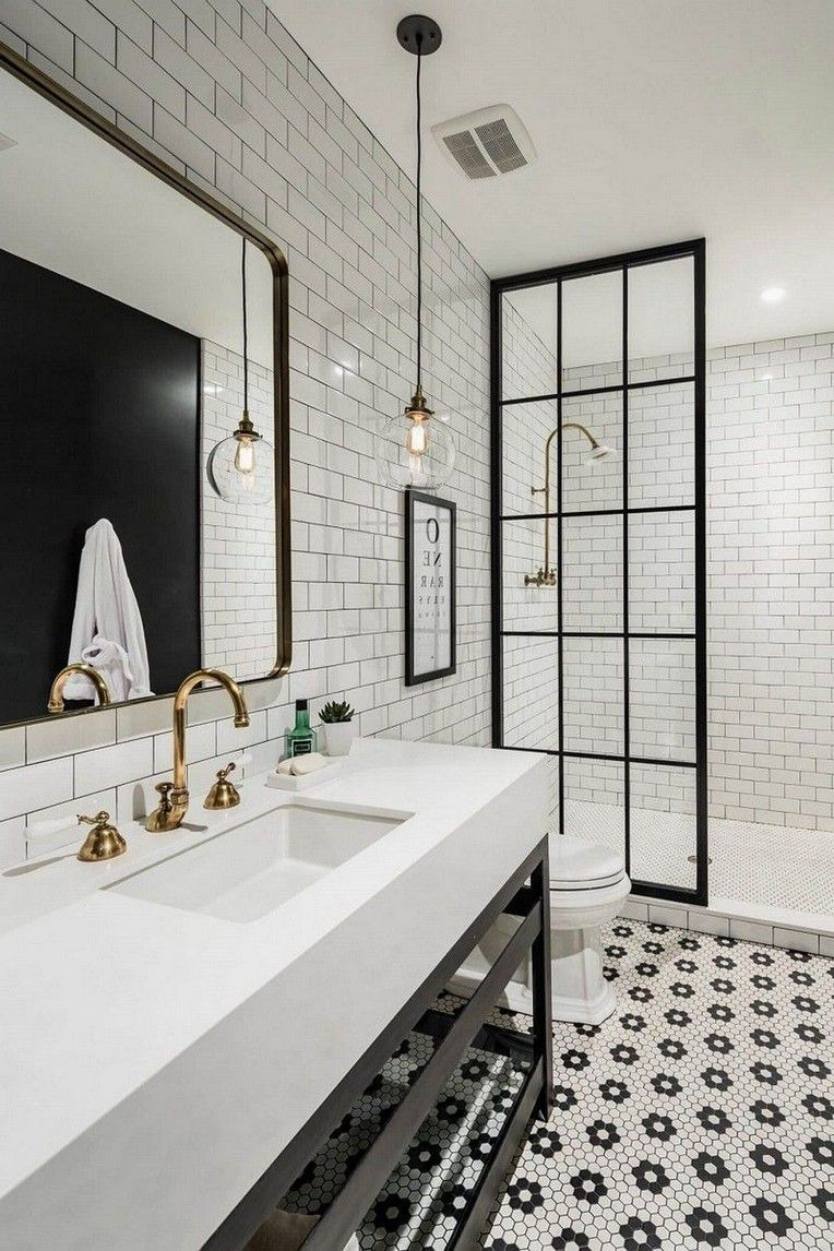 White Bathroom Decor Luxury Get Inspired with 20 Luxury Black and White Bathroom Design