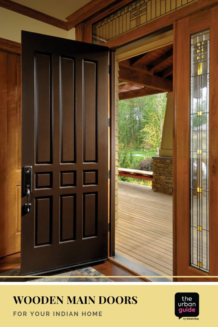 Wooden Main Gate Design Best Of Wooden Main Door Design 10 solid Ideas for Your Indian Home