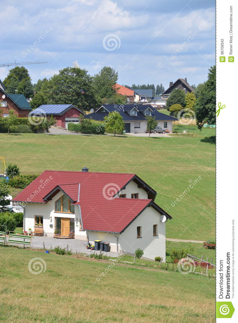Www Beautiful Houses Com Elegant Eifel In Germany with Houses Editorial Graphy Image