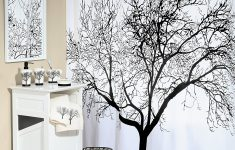 Bathroom Decor Shower Curtains Elegant Black Tree Shower Curtain Best Selection In Town