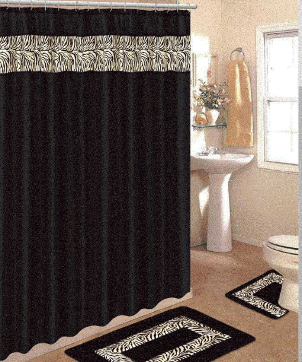 home and interior ideas decorating small bathroom shower curtain s black costco gray green round