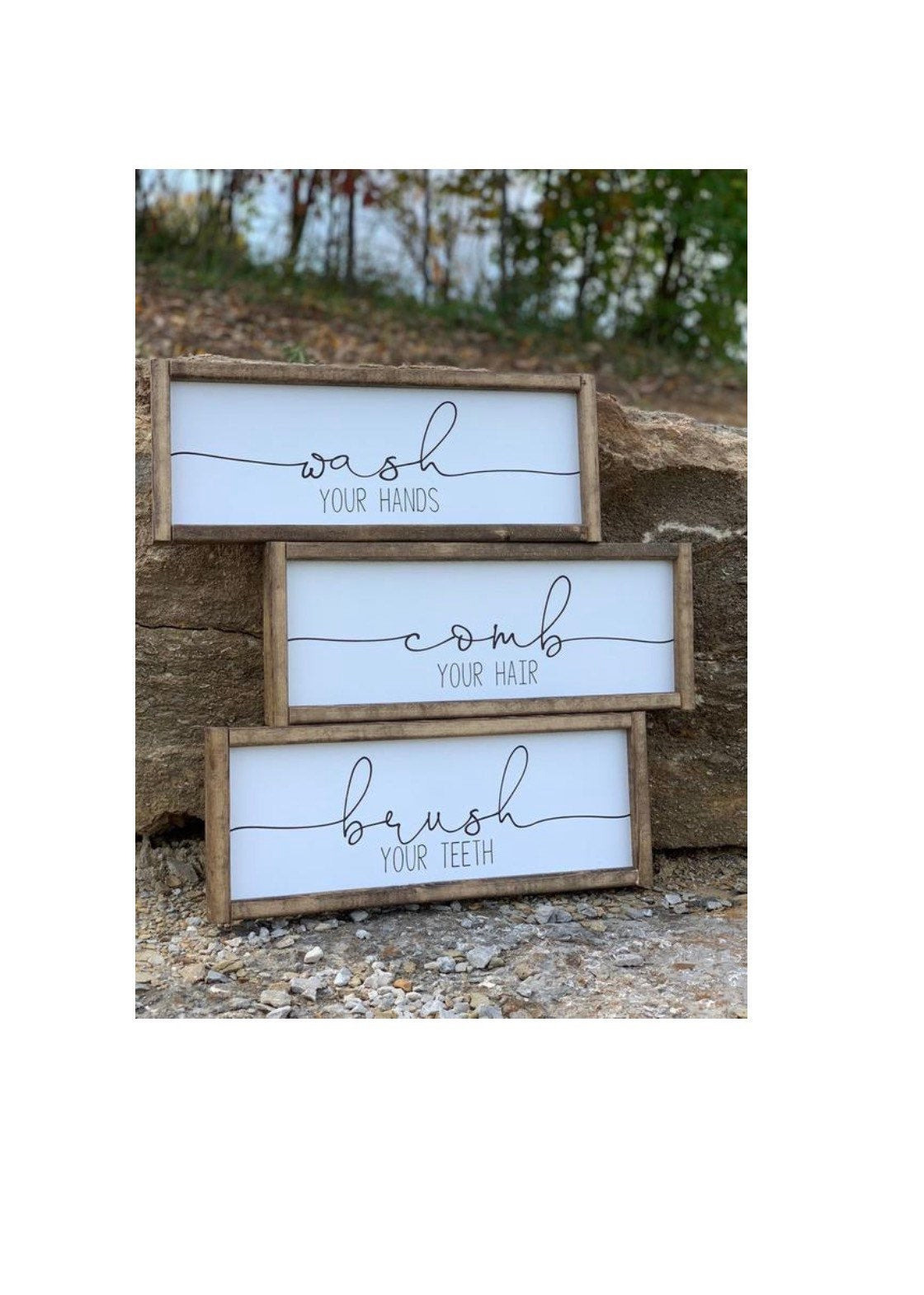 Bathroom Decor Signs Awesome Signs with Quotes Farmhouse Decor