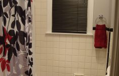 Bathroom Decorating Sets Luxury Black Red Gray & White Bathroom I Love It With Images