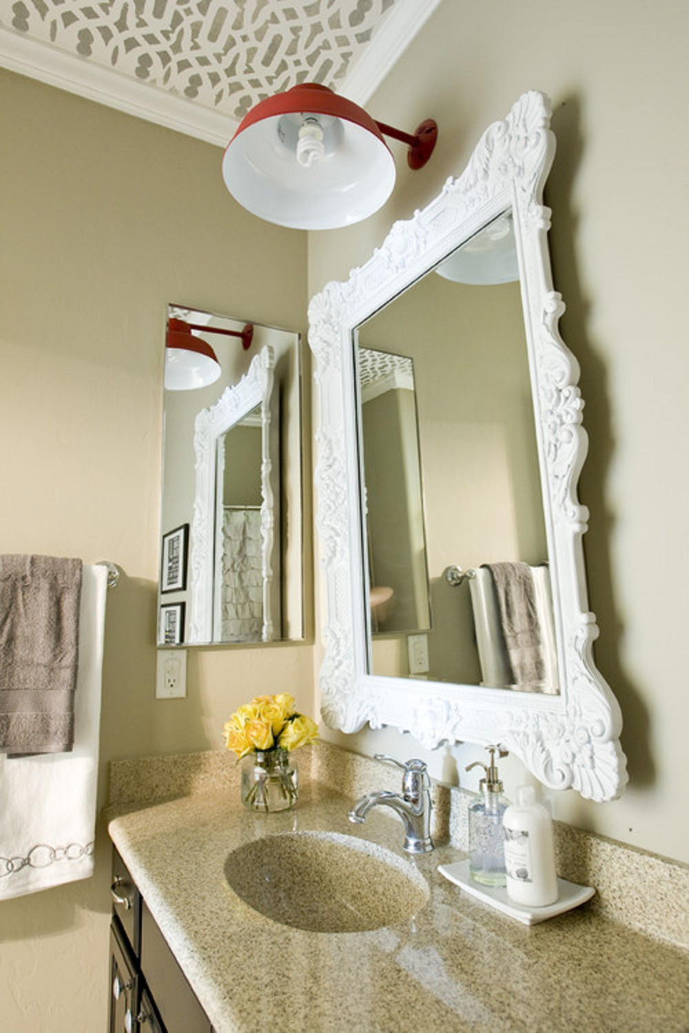 Bathroom Decorative Mirror Awesome How to Make Decorative Bathroom Mirrors