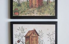 Bathroom Plaques Wall Decor Elegant Outhouse Bathroom Plaques His & Hers 2 Pc Set Rustic Country Outhouses Primitive Lodge Style Bath Signs Wood Wooden Plaque Sign Picture Wall