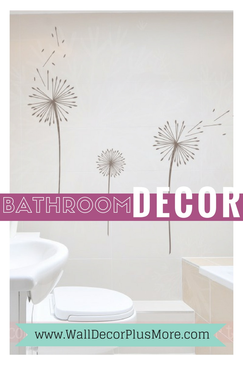 bathroom decor wall decal stickers pinterest blog post