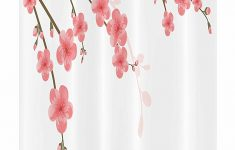 Cherry Blossom Bathroom Decor Awesome Amazon Ambesonne Floral Stall Shower Curtain Cherry