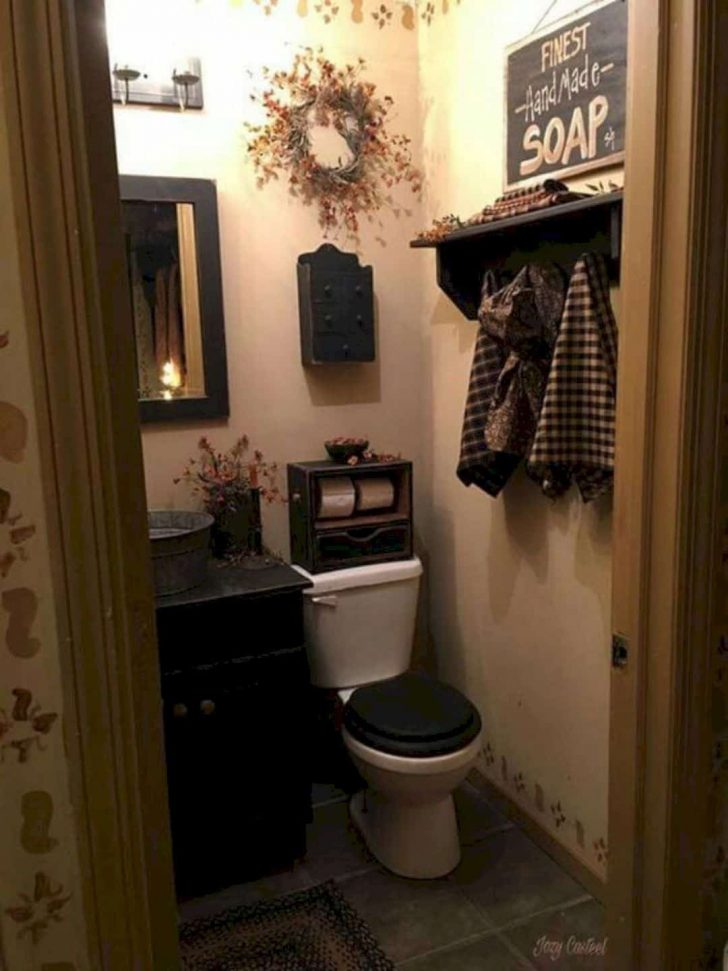 Country Bathroom Decorating Ideas 2020