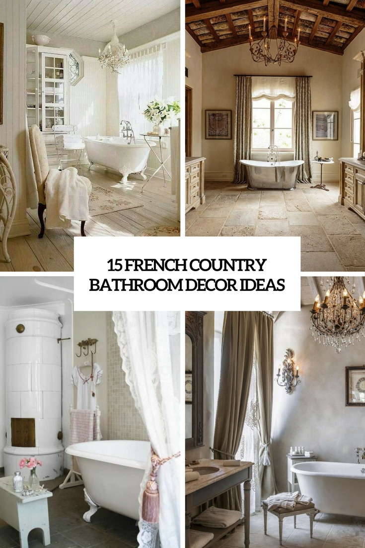 15 french country bathroom decor ideas cover