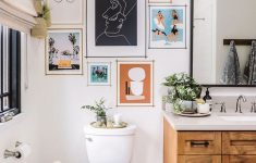 Decorating Ideas For Bathroom Walls Fresh 48 Popular Bathroom Picture And Wall Art Decor Ideas