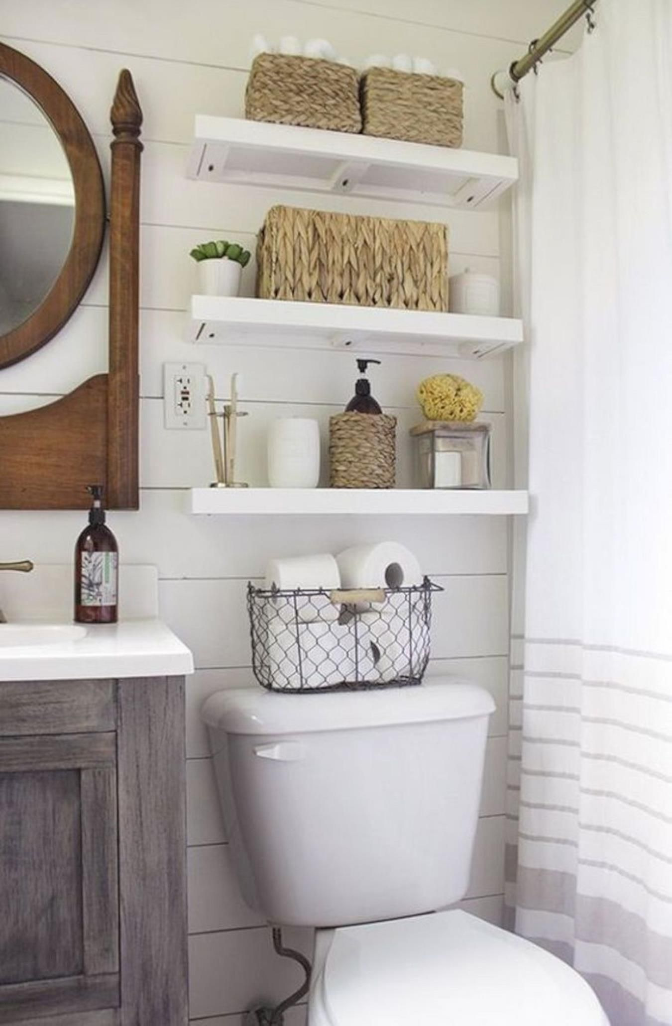 Decorating Ideas for Bathrooms On A Budget Fresh 42 Perfect Small Bathroom Decorating Ideas