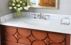 Decorative Bathroom Vanities Fresh Decorative Bathroom Vanity In A Medium Brown Finish