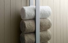 Decorative Towel Racks For Bathrooms Lovely Decorating With Bathroom Towels