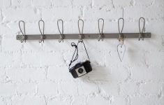 Decorative Wall Hooks for Bathroom Best Of Putty Coloured Zinc Coat Rack with 7 Hooks This Will Add