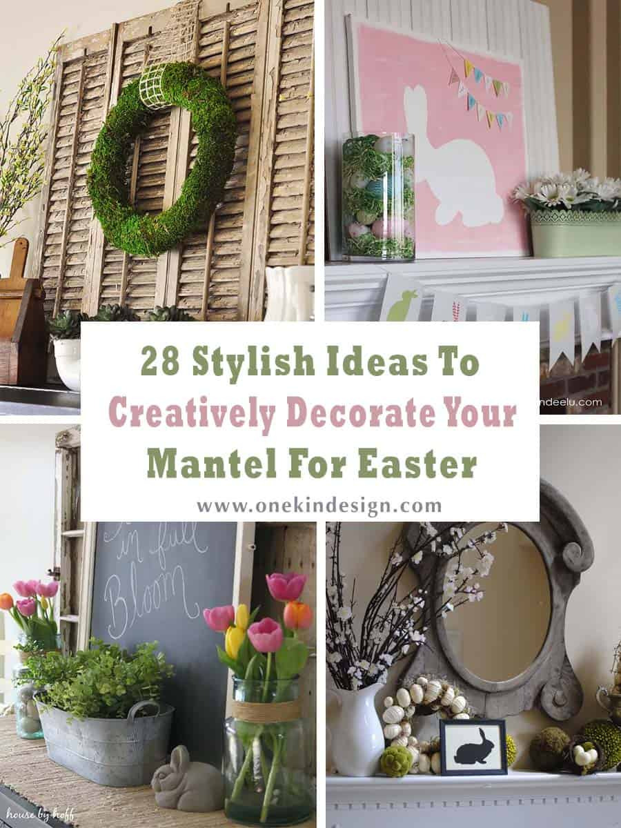 Easter Mantel Decorating Ideas 00 1 Kindesign