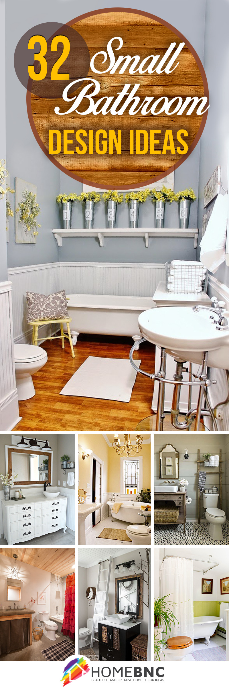 How to Decorate Small Bathrooms Unique 32 Best Small Bathroom Design Ideas and Decorations for 2020