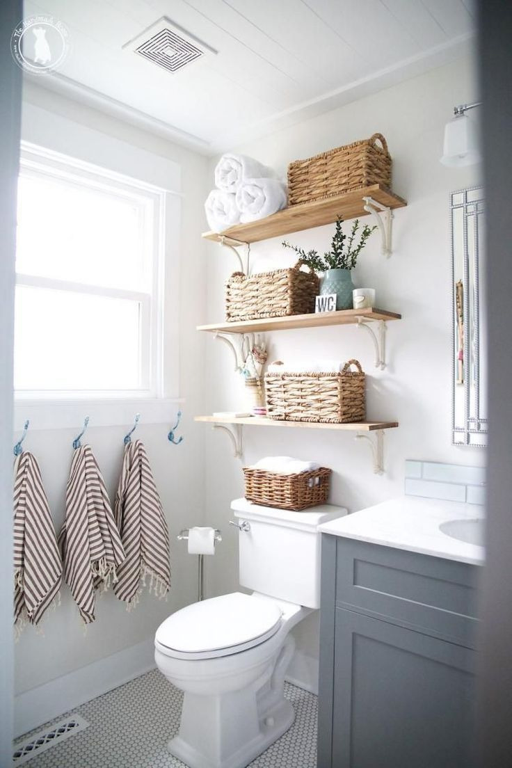 Ideas for Decorating Small Bathrooms New Clever Small Bathroom Decorating Ideas 33 Decoria