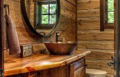Log Cabin Bathroom Decor Awesome 15 Top And Fantastic Rustic Bathroom Designs That Will Make