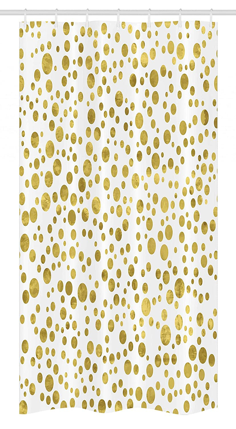 Polka Dot Bathroom Decor Unique Ambesonne Polka Dots Stall Shower Curtain Illustration Of Round Speckled forms In Irregular Layout Artistic Vintage Style Fabric Bathroom Decor Set