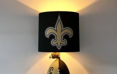 Saints Bathroom Decor Beautiful Nfl New Orleans Saints Football Lamp Saints Saints Light