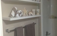 Seashore Bathroom Decor Lovely Seashore Bathroom Shelf For Knick Knacks