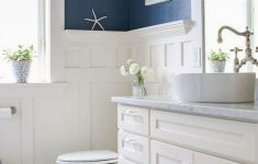 Seaside Bathroom Decor New 59 Gorgeous Coastal Beach Bathroom Decoration Ideas