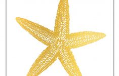 Starfish Wall Decor Bathroom Best Of Amazon Gold Foil Print Starfish Decor Nautical Wall
