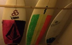 Surfboard Bathroom Decor Beautiful Surfboards Hung From The Ceiling In 2019