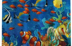 Tropical Fish Bathroom Decor Luxury Amazon Chaogo Waterproof Polyester Fabric Shower