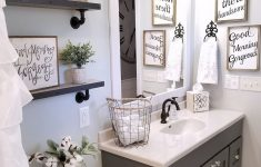 Urban Bathroom Decor New Wonderful Urban Farmhouse Master Bathroom Remodel 46