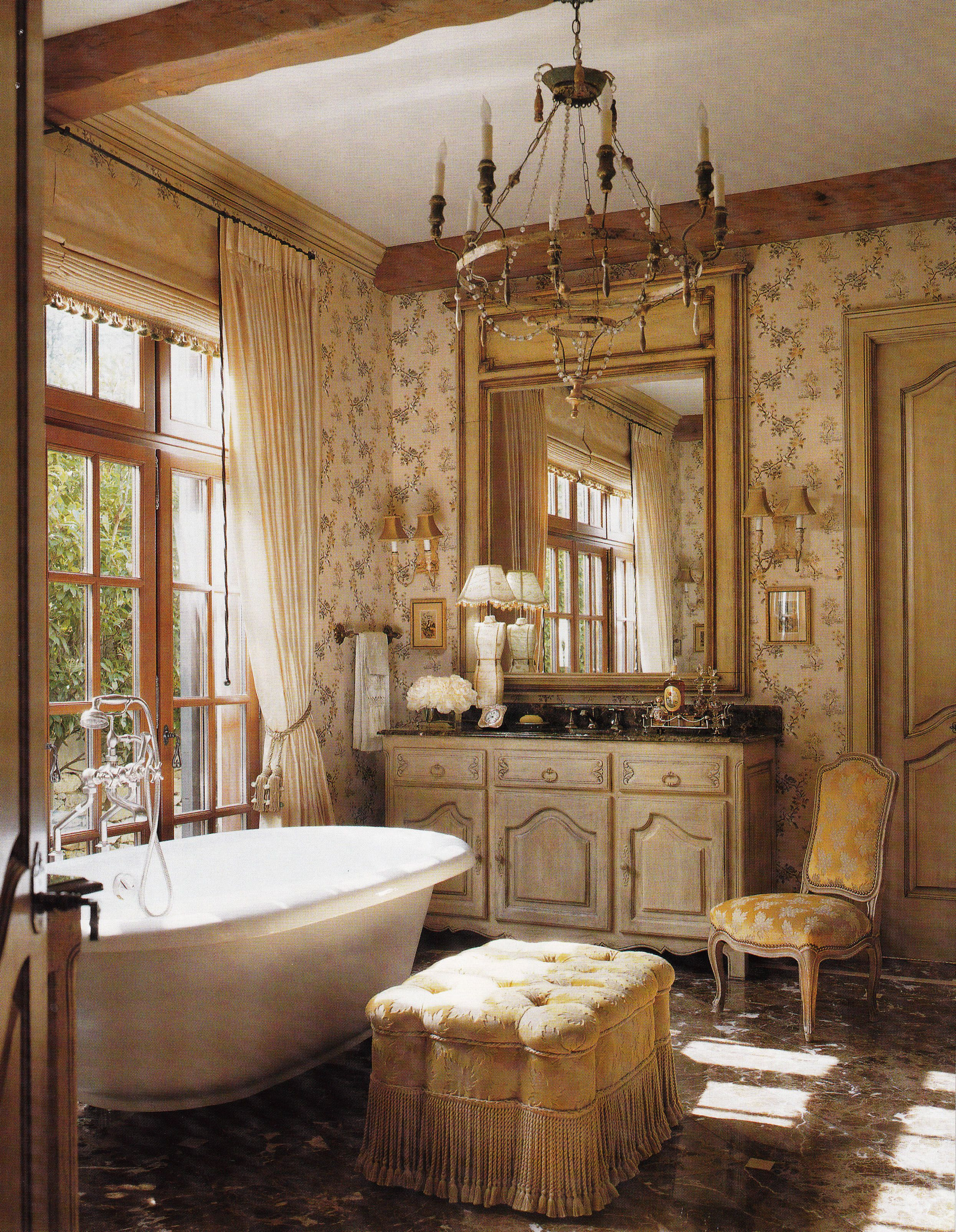 Country French Bathroom Decor Elegant Country French Bathroom Jack & Susan Arnold Architect and