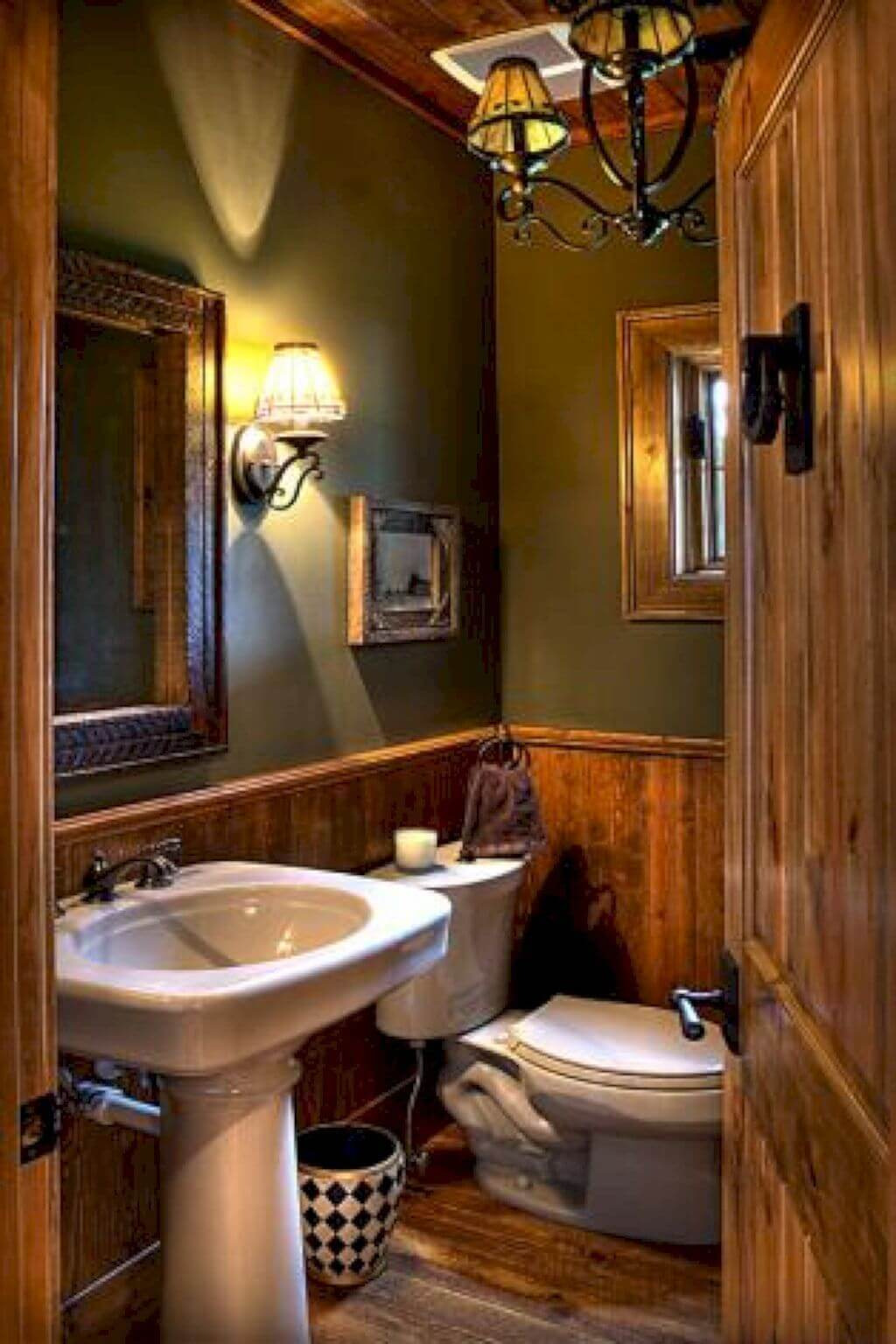 Rustic Bathroom Ideas Rustic Country Wall Decor