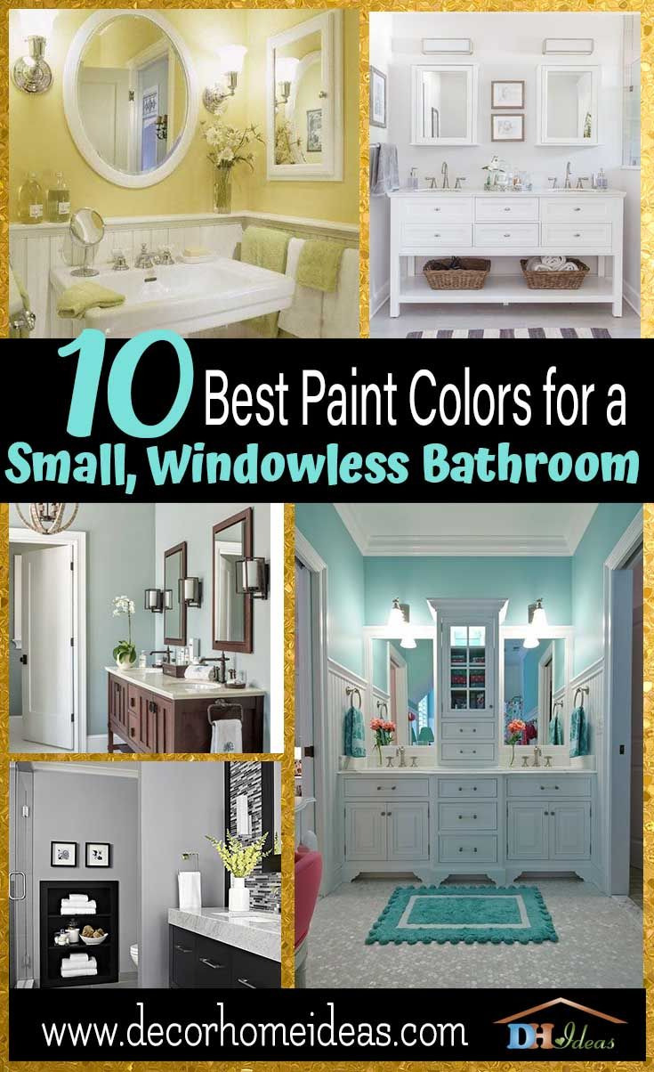 10 best paint colors for small bathroom with no windows home decor with regard to good colors for small bathrooms