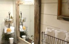 Decorating Bathroom Vanity Lovely 50 Amazing Farmhouse Bathroom Vanity Decor Ideas 20