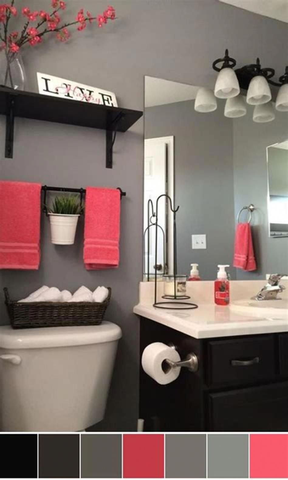Decorating Ideas for Bathrooms Colors New 40 Best Color Schemes Bathroom Decorating Ideas On A Bud