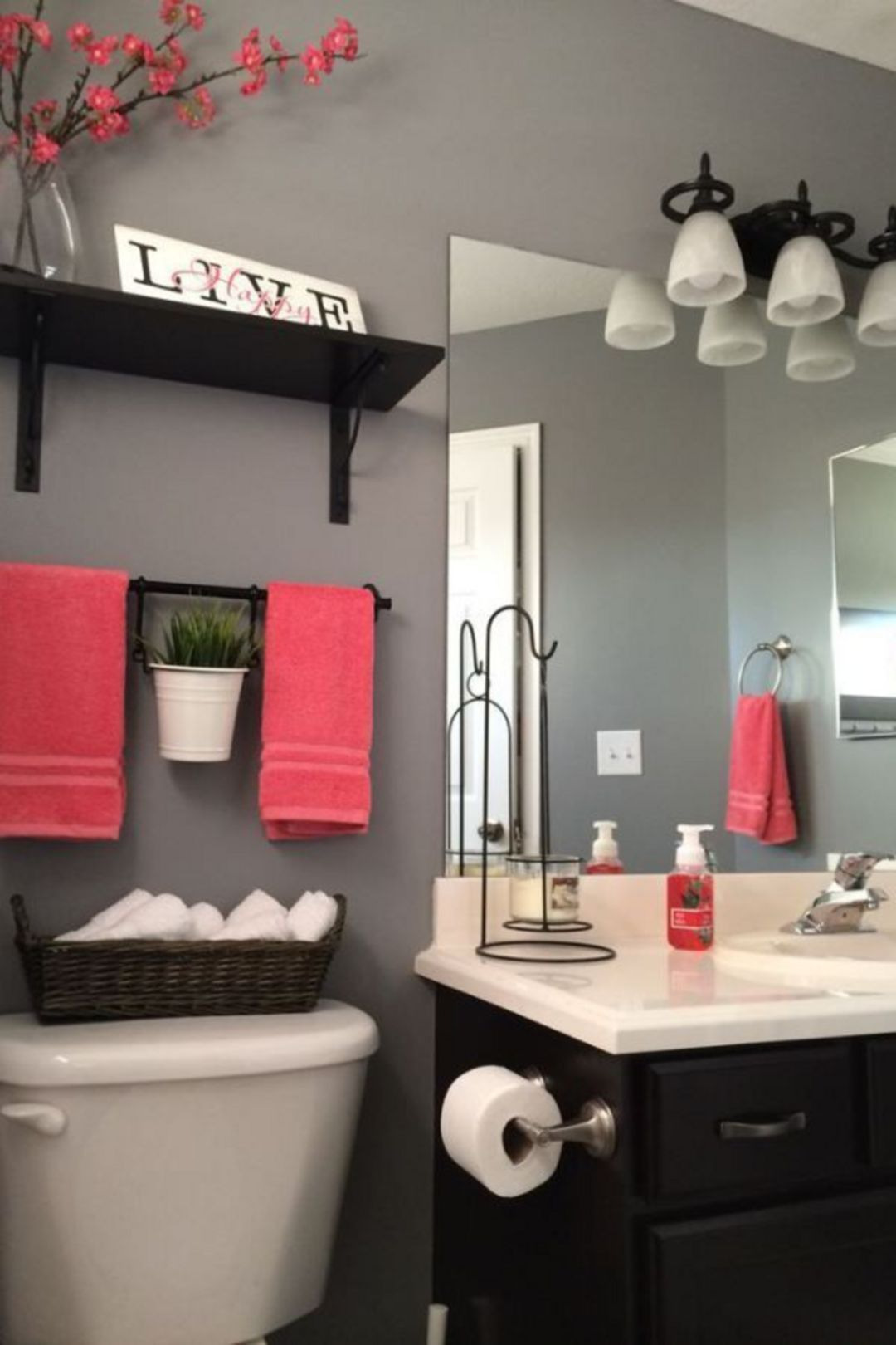 Decorating Ideas for Small Bathrooms In Apartments Unique Small Bathroom Apartment Design Ideas 230