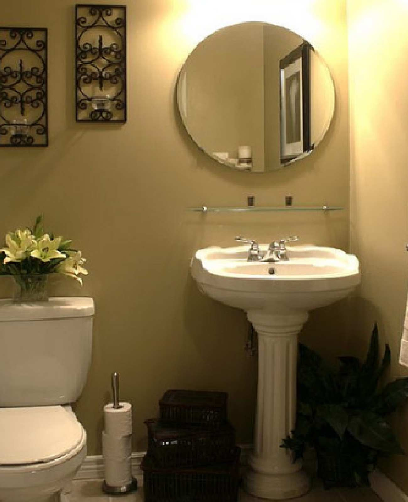 Decorating Ideas for Small Bathrooms with Pictures Awesome Bathroom Small Bathroom Decorating Ideas to Her with