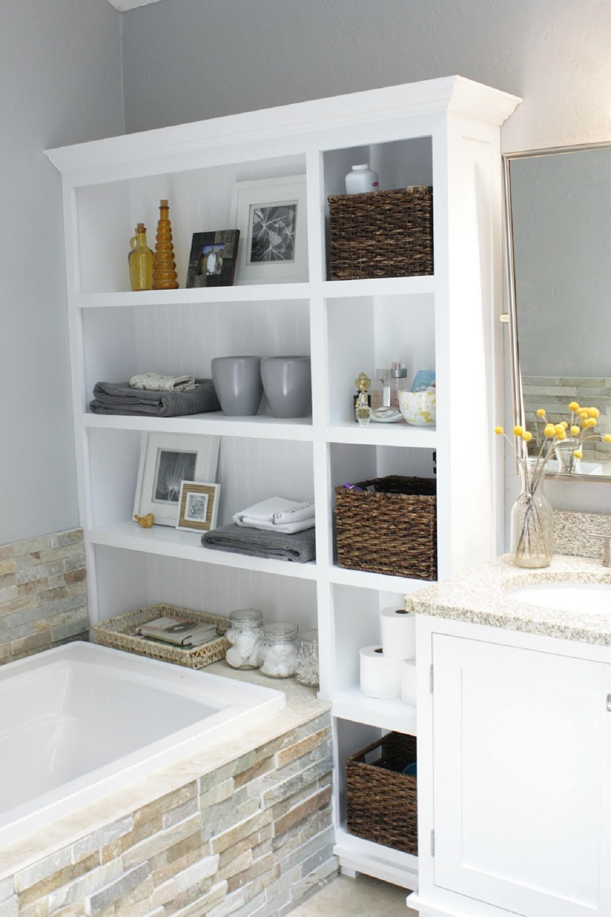 Decorative Bathroom Cabinets Beautiful 44 Best Small Bathroom Storage Ideas and Tips for 2020