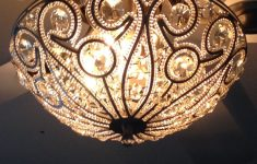 Decorative Bathroom Fan Light Combo Awesome Tired Of The Boring Ceiling Fan Light Kits Buy A Sparkly