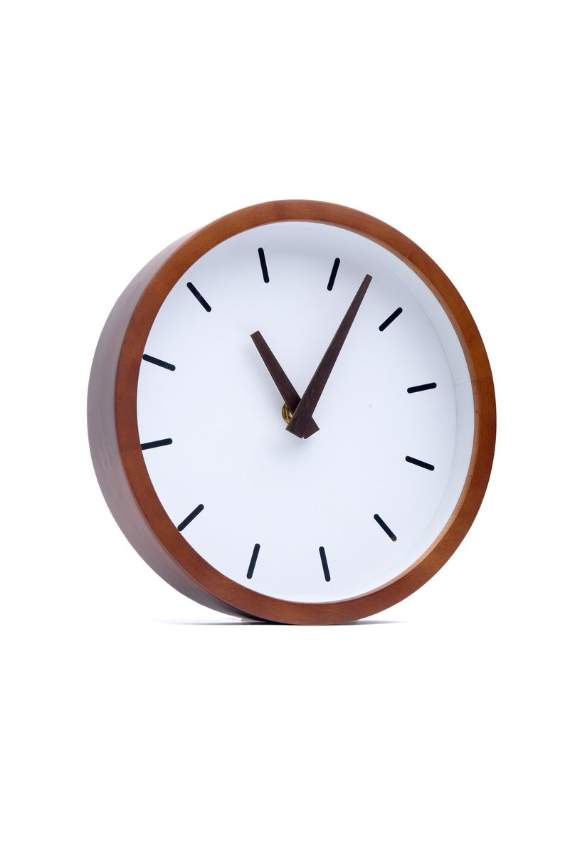 Driini Silent Minimalist Analog Wall Clock Side 1200x1200
