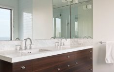 Decorative Mirrors For Bathroom Vanity Awesome Bathroom Mirror Ideas Fill The Whole Wall
